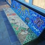 Mozaiekbank Huis in de Duinen